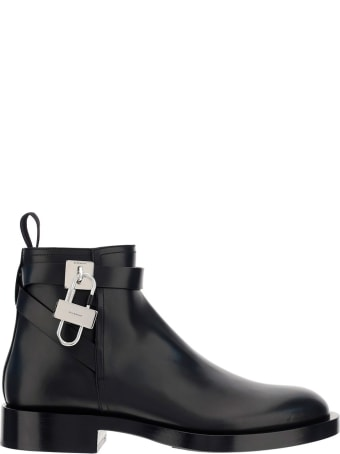 Givenchy Lock Boots
