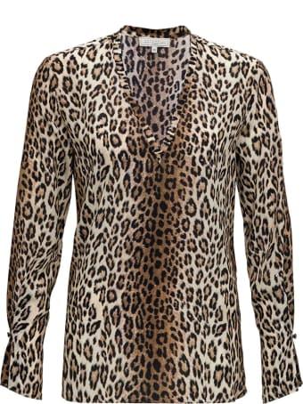 Antonelli Animalier Silk Blouse