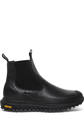 Diemme Ramon Leather Ankle Boots With Vibram Rubber Sole