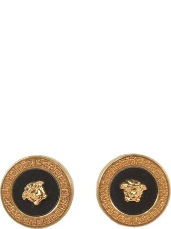 Versace Medusa Head Round Earrings