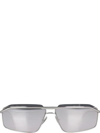 Balenciaga Sunglasses In Silver Metal Alloy