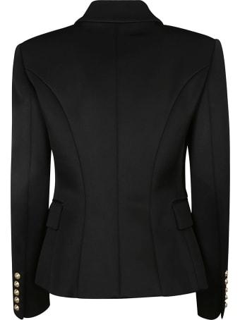Balmain Regular Fit Double-breasted Dinner Jacket
