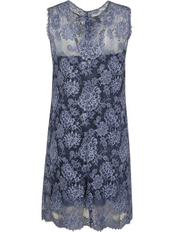 Ermanno Scervino Floral Sleeveless Dress