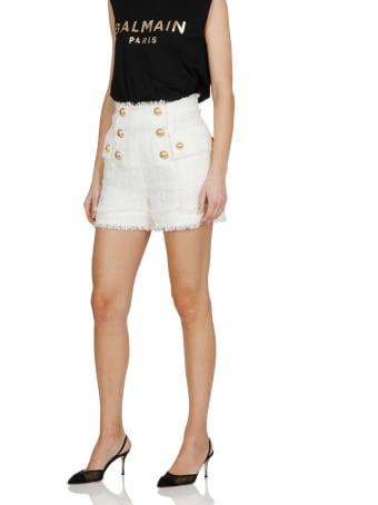 Balmain Short With Buttons