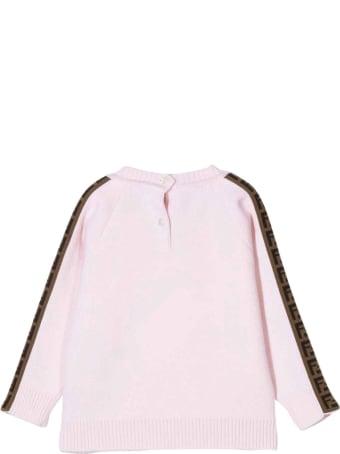 Fendi Unisex Pink Shirt