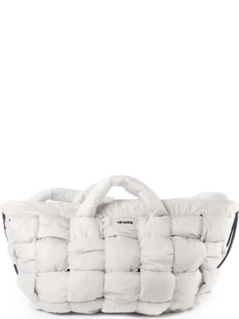 Vic Matié White Nylon Bag