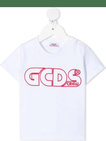 GCDS Mini Embroidered Logo T-shirt