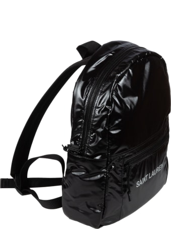Saint Laurent Logo Front Backpack