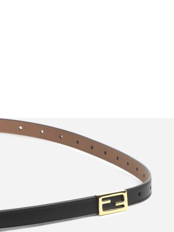 Fendi Double-wrap Baguette Belt Made Of Leather