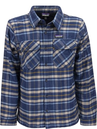 Patagonia Flannel Insulated Jacket Fjord
