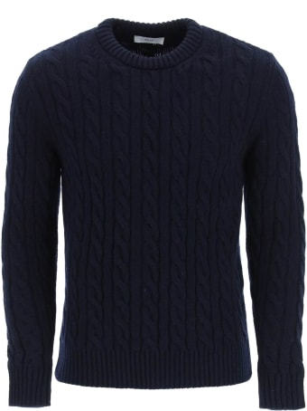 GM77 Cable Knit Lambswool Sweater