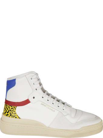 Saint Laurent Sl/24 Mid-top Sneakers