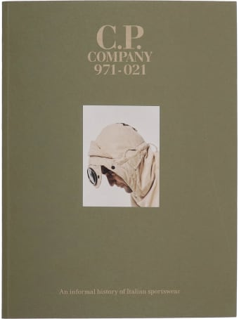 C.P. Company Book 50th Anniversary  In Beige Synthetic Fibers