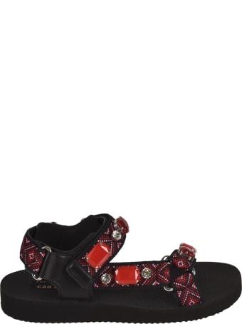 Car Shoe Nastro Embellished Sandals