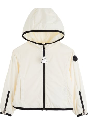 Moncler Breanna Nylon Jacket With Contrasting Profiles