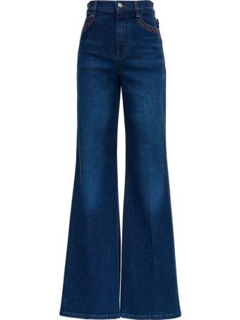 Chloé Wide-leg Bell Jeans