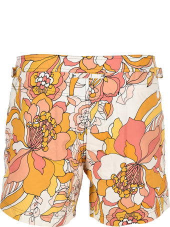 Tom Ford Floral-print Swim Shorts