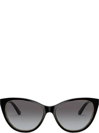 Ralph Lauren Ralph Lauren Rl8186 Shiny Black Sunglasses