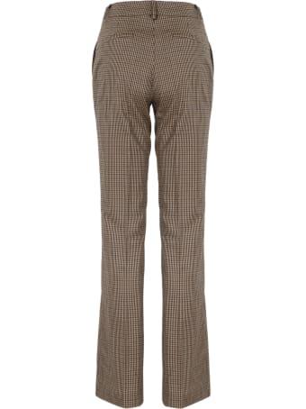 Parosh Check Flannel Trousers
