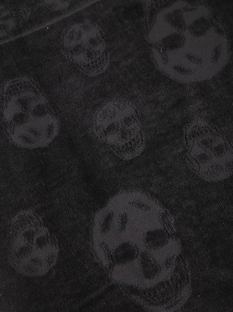 Alexander McQueen Tonal Skull Scarf