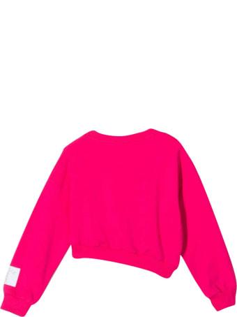 Gaelle Bonheur Crop Sweatshirt With Print