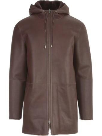 Desa 1972 Razado Nappa Reversible Jacket