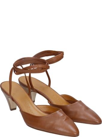 Fabio Rusconi Sandals In Leather Color Leather
