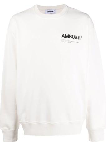 AMBUSH White Cotton Sweatshirt