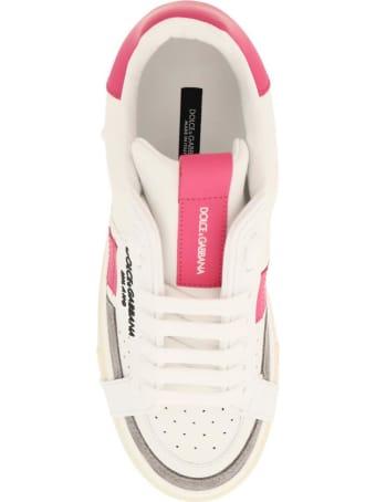 Dolce & Gabbana Custom 2.zero Leather Sneakers