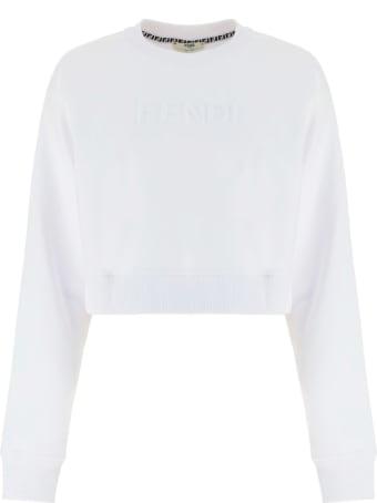 Fendi Crop Sweatshirt