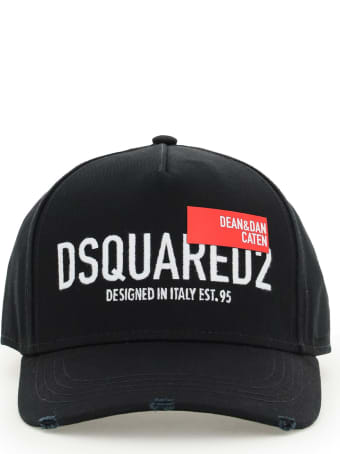 Dsquared2 D&d Red Tag Baseball Cap