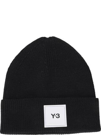 Y-3 Adidas Y3 Logo-patch Beanie