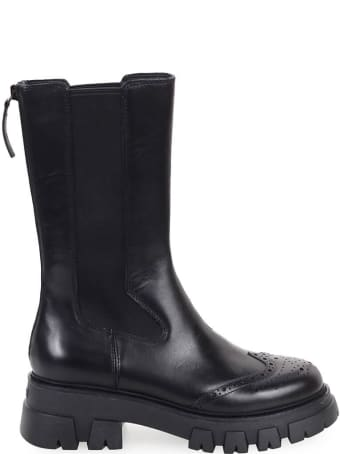 Ash Lennox Black High Chelsea Boot