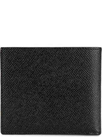 Dolce & Gabbana Black Leather Wallet With Logo