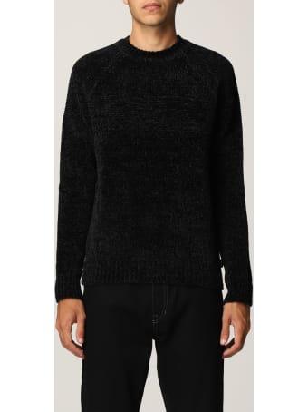 Emporio Armani Sweater Emporio Armani Color Block Crewneck Sweater