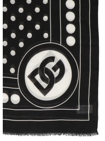 Dolce & Gabbana Dotted Print Scarf