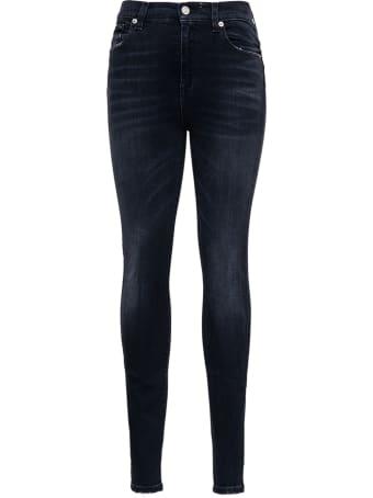 Mauro Grifoni Black Skinny Denim Jeans
