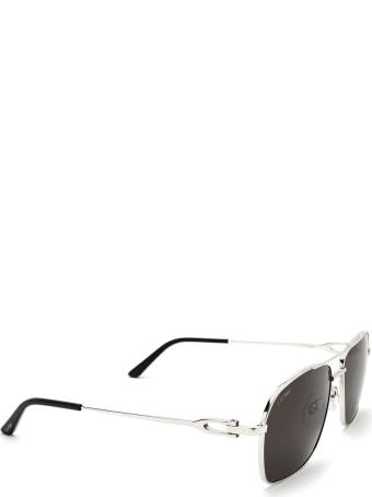Cartier Eyewear Cartier Ct0306s Silver Sunglasses