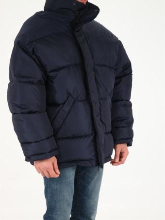 Balenciaga Oversized Blue Jacket