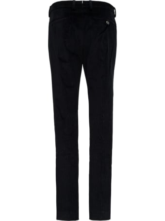 Berwich Black Velvet Pants