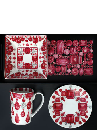 Taitù Set of 4 Small Plates - Forever Collection