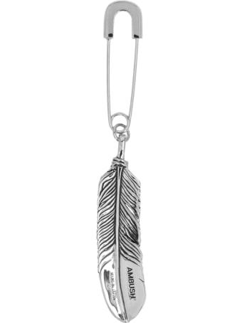 AMBUSH Feather Charm Earring