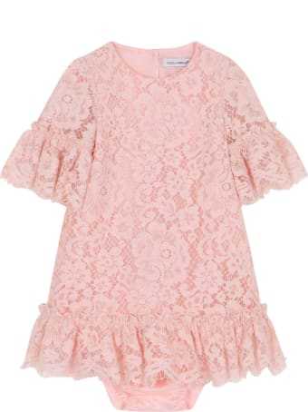 Dolce & Gabbana Baby Girl Pink Dress