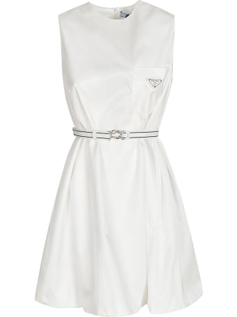 Prada Sleeveless Belted Dress