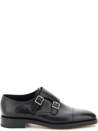 John Lobb William Double Monk Loafers