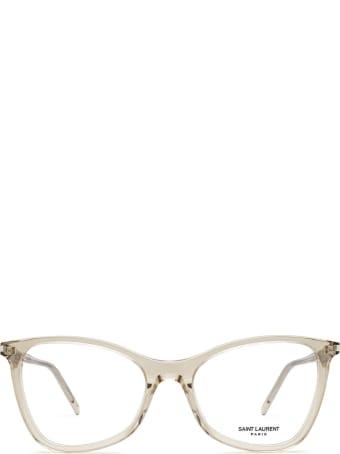Saint Laurent Saint Laurent Sl 478 Nude Glasses