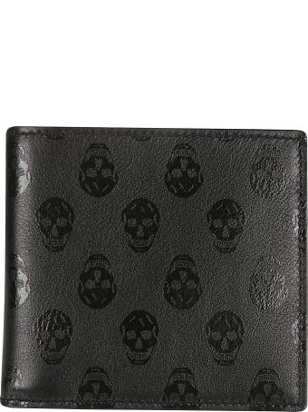 Alexander McQueen Skull Printed Wallet