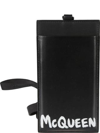 Alexander McQueen Logo Print Smartphone Case