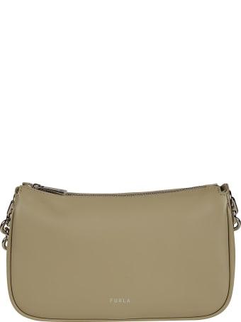 Furla Top Zipped Chain Shoulder Bag