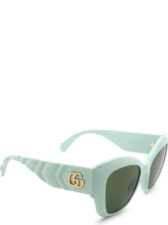 Gucci Gucci Gg0808s Green Sunglasses